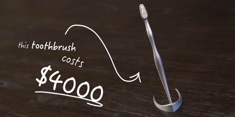 Illustration for article titled If a $4,000 Toothbrush Doesn't Make You Happy, Nothing Will