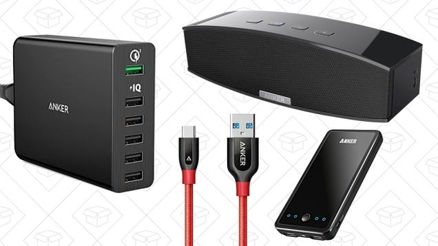 Some Of Your Favorite Anker Gear Is Now 25% Off