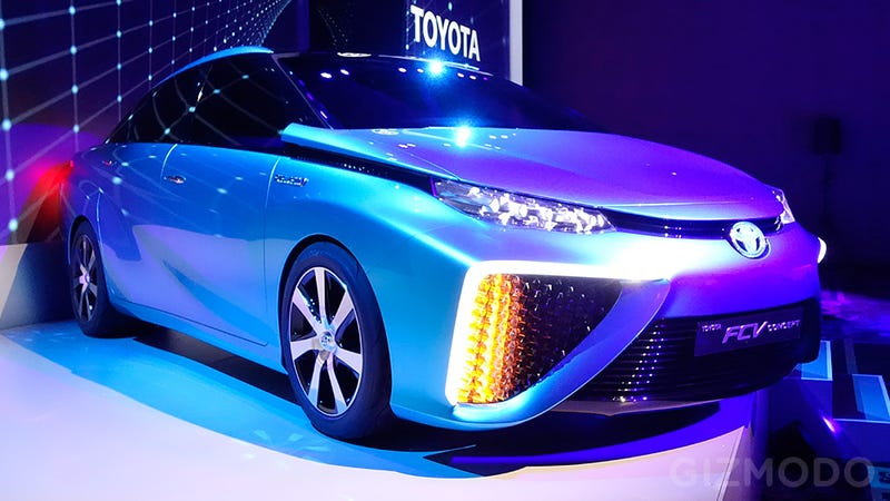 Water Vapor Will Be the Only Emission From Toyota's New Fuel