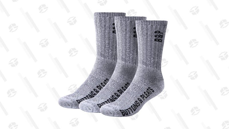 Buttons & Pleats Premium Merino Wool Hiking Socks, 3-Pack | $8 | Amazon | Use code RRBCBOC9