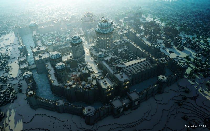 Illustration for article titled El juego Minecraft se convierte en un impresionante fenómeno de masas