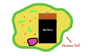 Illustration for article titled MIT Developing a Battery Half the Size of a Human Cell