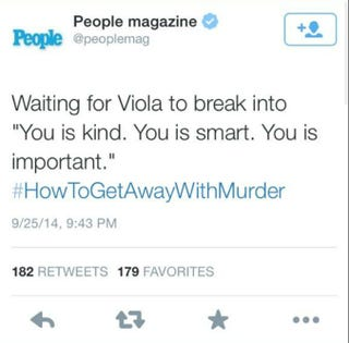 Illustration for article titled People Magazine Deletes Offensive Tweets About Viola Davis and Scandal