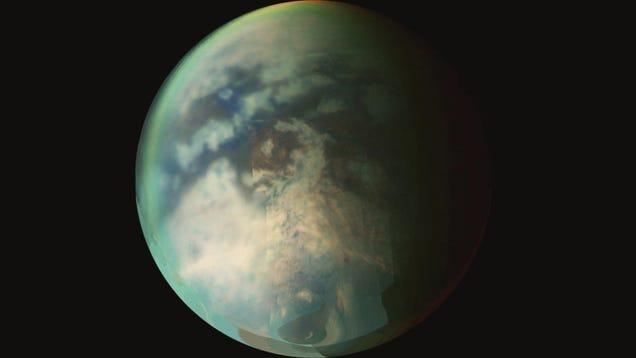 Wet Sidewalk Effect  Solves Mystery of Rain on Saturn s Moon Titan