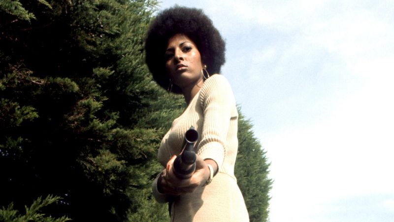Pam Grier in a promotional photo for her film Coffy. (Photo: Michael Ochs Archives / Getty Images)