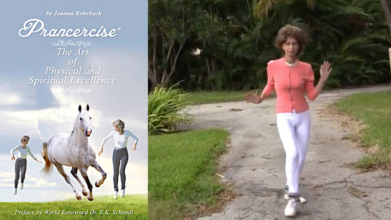 Illustration for article titled Meet the Woman Behind Prancercise, the Greatest Fitness Sensation Ever