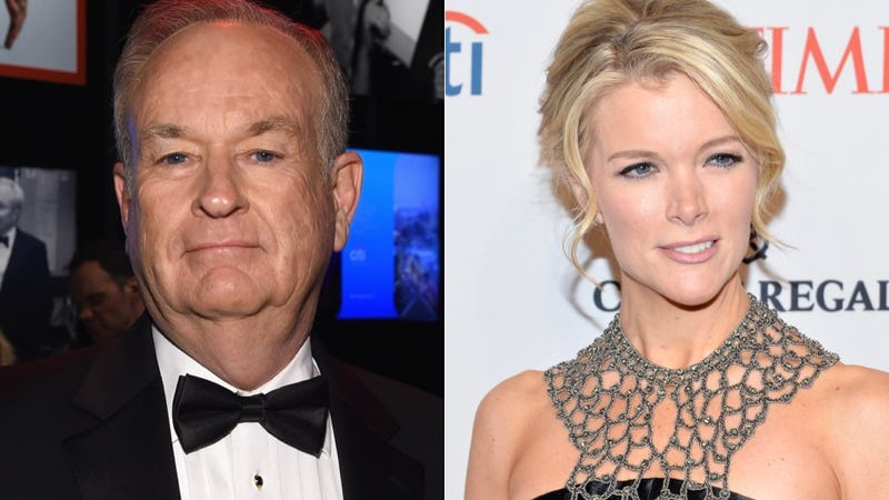 Illustration for article titled Megyn Kelly and Bill O'Reilly Hate Each Other