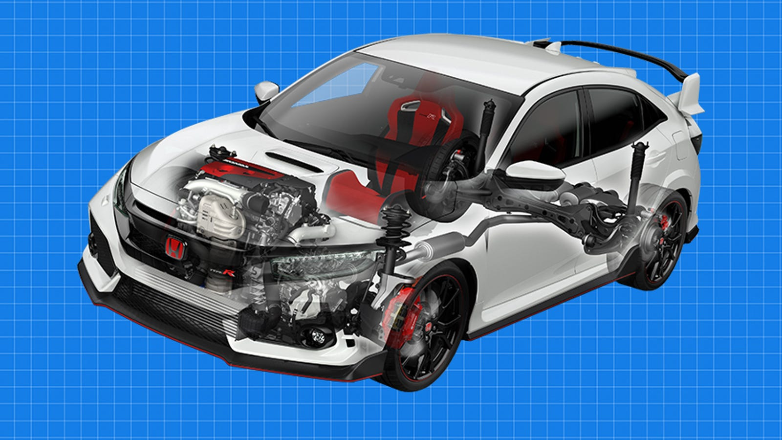 By The Numbers: 2017 Honda Civic Type R Vs Focus RS, WRX STI