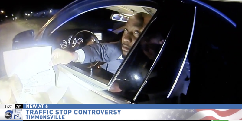 Illustration for article titled South Carolina NAACP President Claims He Was Racially Profiled During Traffic Stop, but Bodycam Video Tells a Different Story