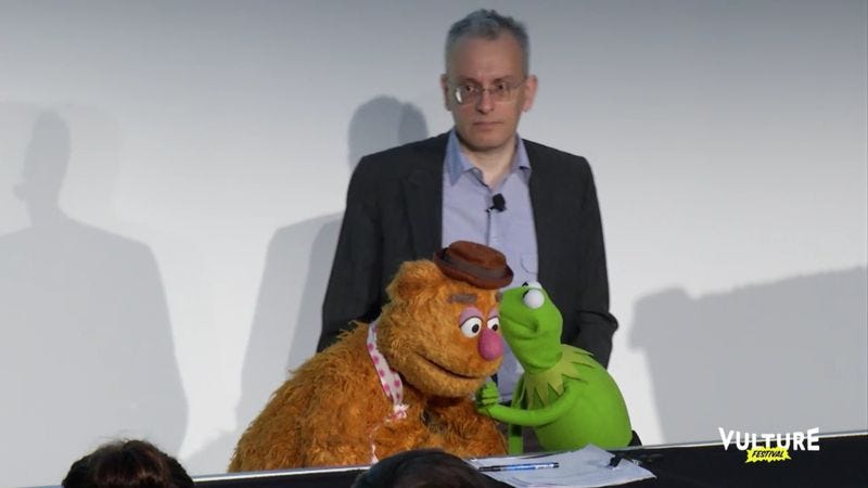 Screenshot: Fozzie Bear Didn't Know The Muppets Got Cancelled