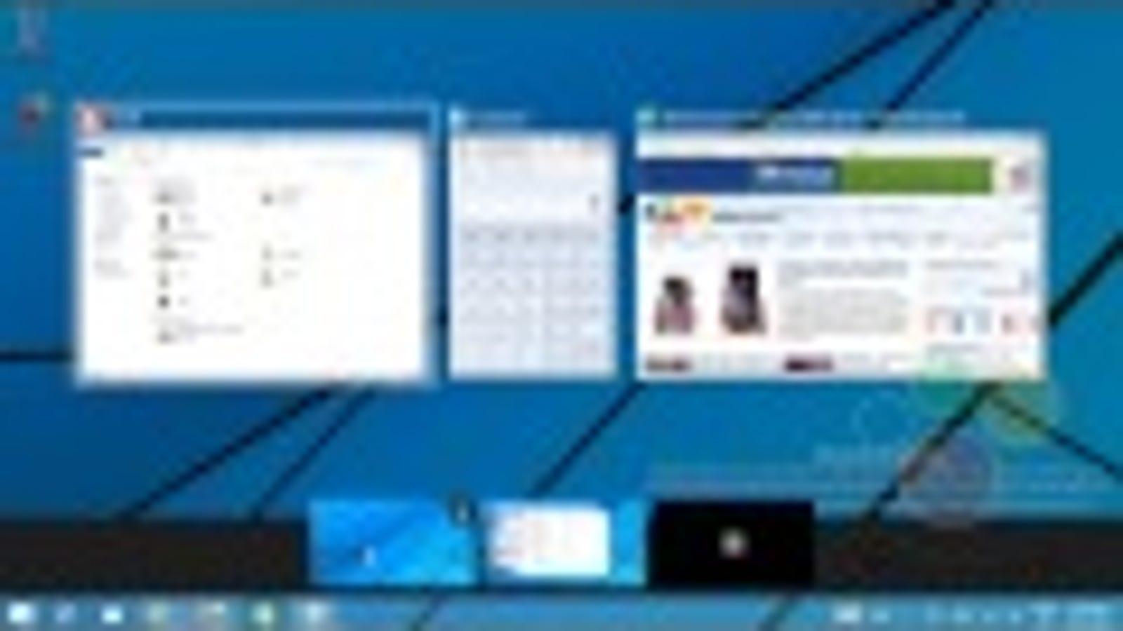 Así funciona el supuesto sistema de escritorios múltiples de Windows 9