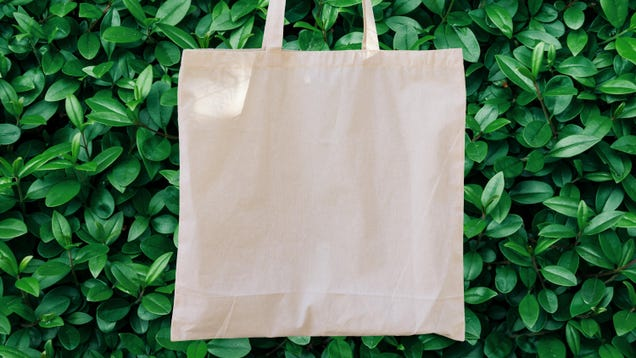 Your Cotton Tote Bags Are Totally Fine