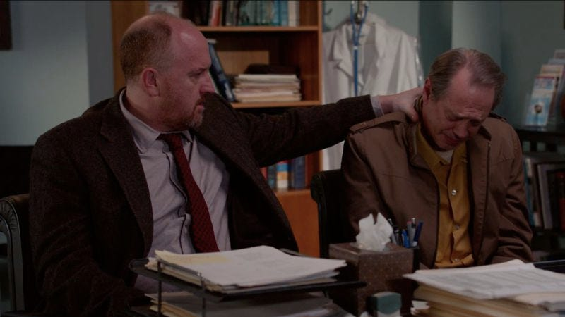 That should cheer up Steve Buscemi (Horace And Pete)
