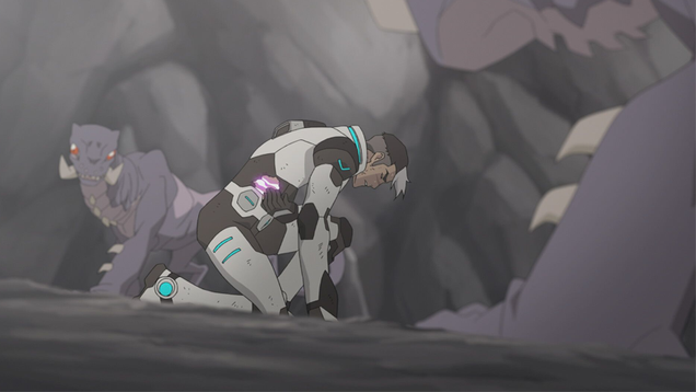 shiro may have met his fate in this exclusive clip from voltron legendary defender