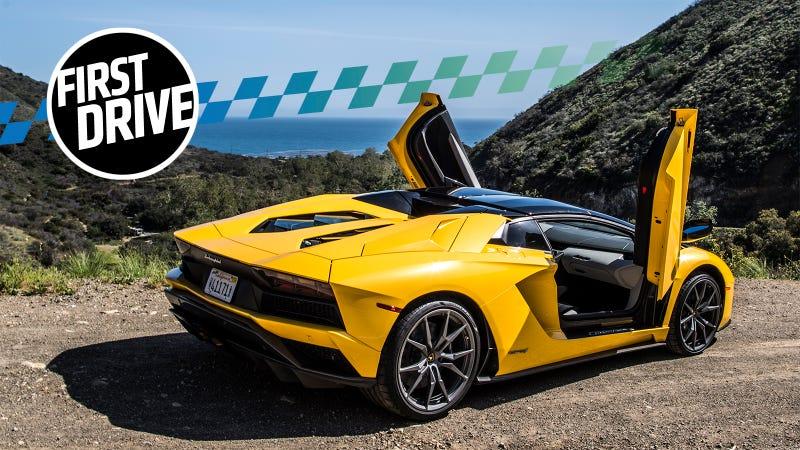 The 460 000 740 Hp Lamborghini Aventador S Is Barely A Car