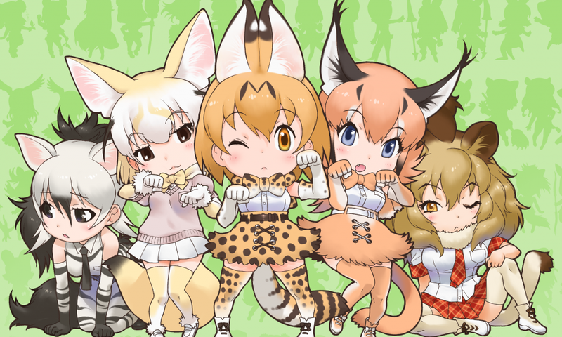 Illustration for article titled Enjoy the newest promo of the anime of Kemono Friends
