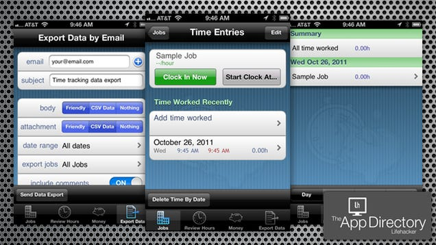 best free time tracking iphone