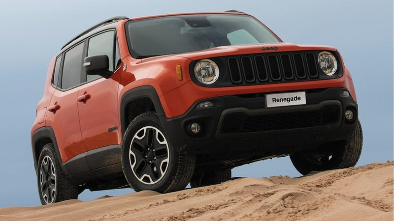 Illustration for article titled The 2015 Jeep Renegade Is A Six-Speed Manual 4x4 For Under $20,000