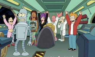Illustration for article titled Secrets of Futurama's new season: who's dead, who's in love, and who's robosexual
