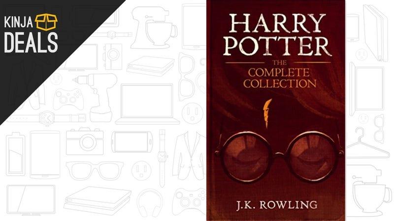 Illustration for article titled Download All Seven Harry Potter Novels to Your Kindle For Just $15