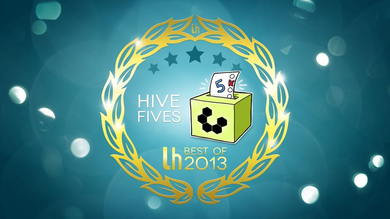 Illustration for article titled Most Popular Hive Fives of 2013