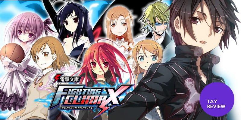Illustration for article titled Dengeki Bunko Fighting Climax: The TAY Review