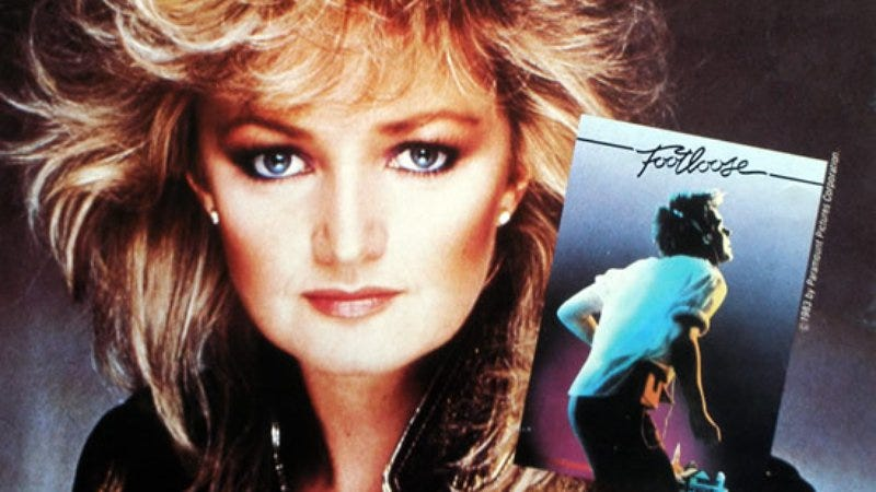 "Illustration for article titled Bonnie Tyler's ""Holding Out For A Hero"" forces its way to greatness"