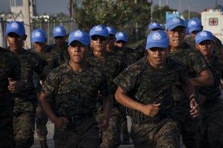 U.N. troops in Haiti (Getty Images)