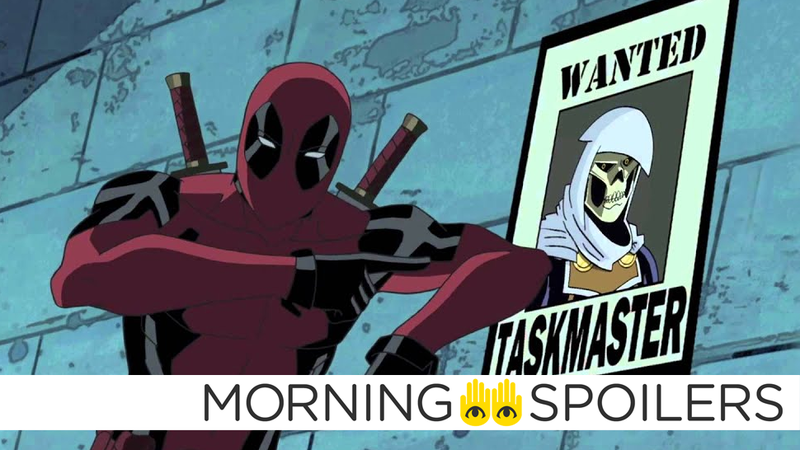 Deadpool, as he appeared in the Ultimate Spider-Man cartoon series.