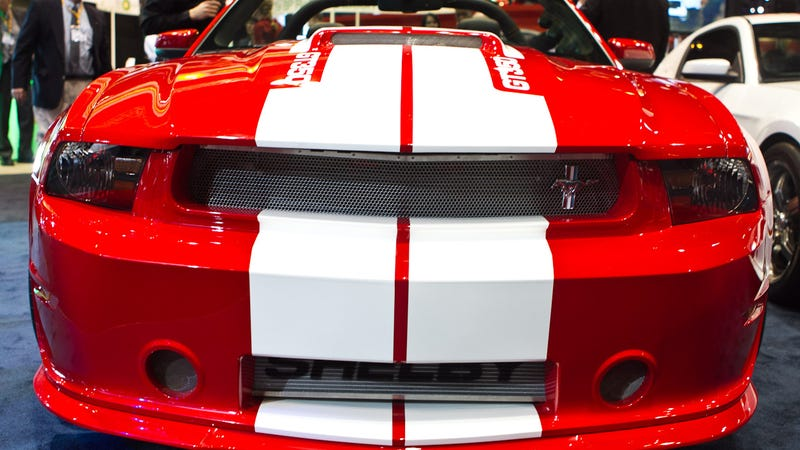 Illustration for article titled 2012 Shelby GT350: First Photos