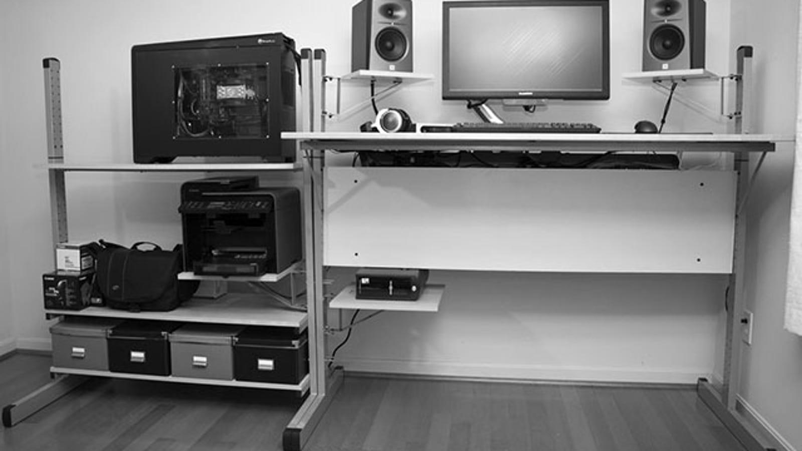 The Custom Standing Workspace