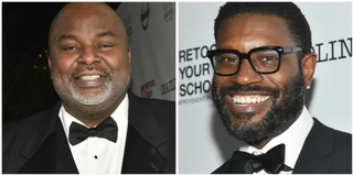 Gil Robertson IV (l) and Shawn Edwards (r), founders of the African American Film Critics Association