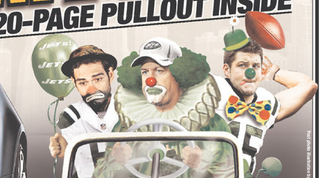 Illustration for article titled The Post Drew Mark Sanchez As A Very Sad Clown