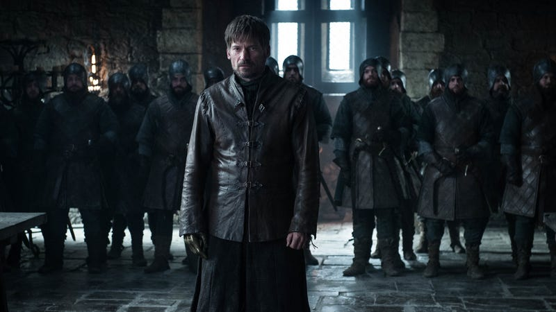 Jaime (Nikolaj Coster-Waldau) makes a stand.