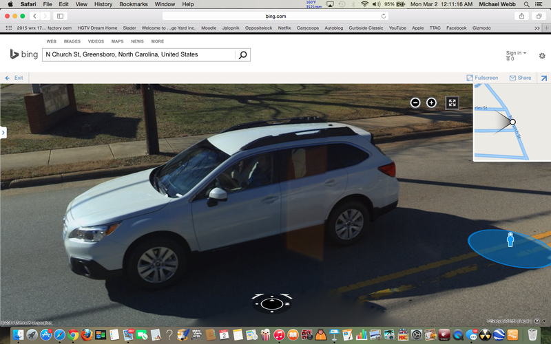 Illustration for article titled I Saw the Bing Streetview Car About a Month Ago and...