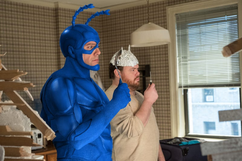 Illustration for article titled Arthur faces a new threat on a suspenseful The Tick