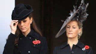 Illustration for article titled Kate Middleton Tips Her Hat