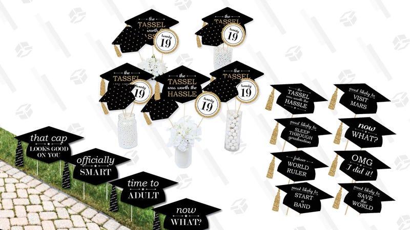Graduation Party Supply Gold Box | Amazon