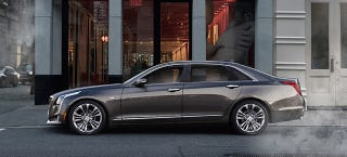 Illustration for article titled Wasn't The Cadillac CT6 Supposed To Be A Plug-In Hybrid?
