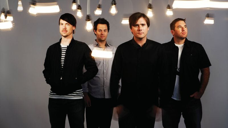"""Illustration for article titled Jimmy Eat World's """"Sweetness"""" should be a stadium sing-along"""