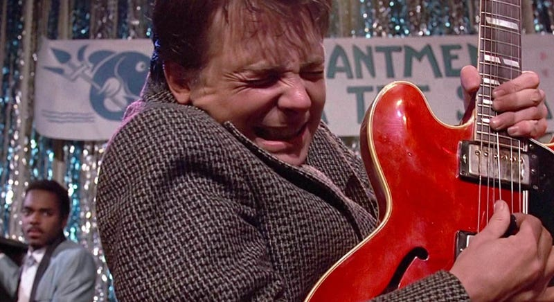 Marty McFly is coming to the stage in a musical version of Back to the Future.