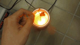 Esto es lo que ocurre al mezclar lásers, LEDs y nitrógeno líquido