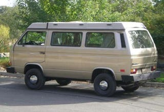 Illustration for article titled Nice Price Or Crack Pipe: $41,000 1986 Volkswagen Syncro Westfalia Weekender?