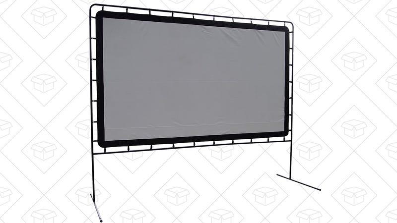 "144"" Projector Screen, $147"
