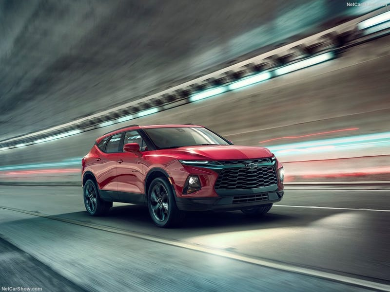 Illustration for article titled Ready or Not, The 2019 Chevrolet Blazer is Here