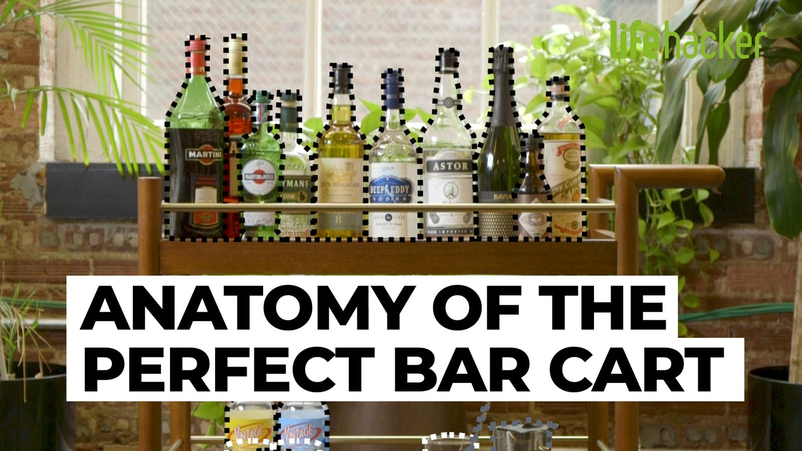 The Anatomy Of A Perfect Bar Cart Memes