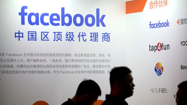 Facebook Is Suing Four Chinese Companies for Allegedly Selling Fake Accounts