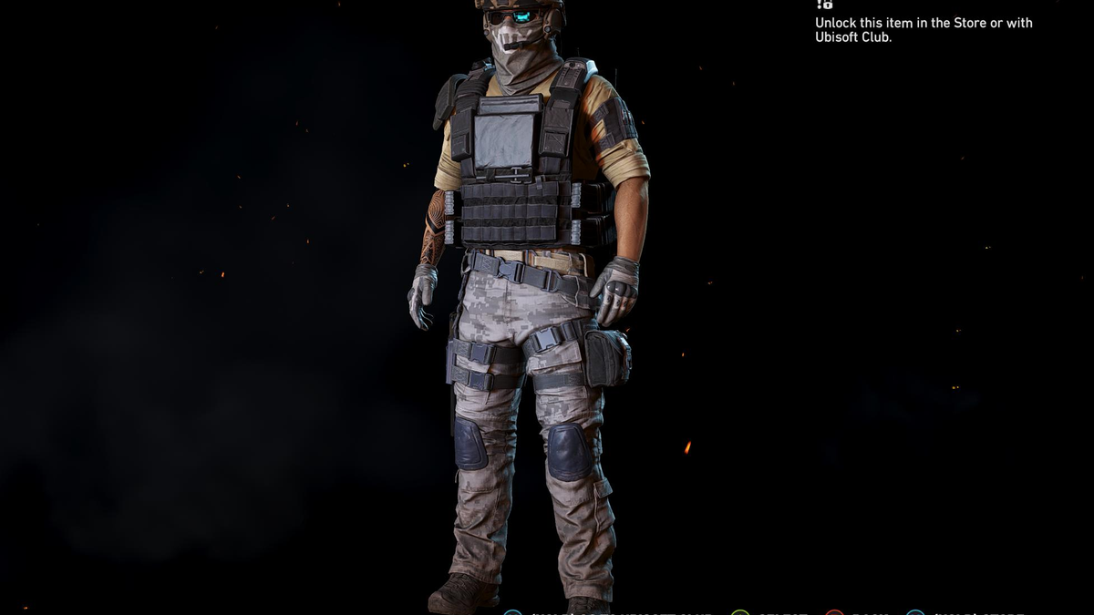 Sam Fisher Would Not Approve Of Ghost Recon's Night Vision