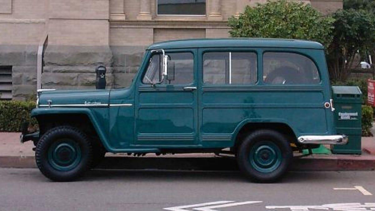 Willys jeep station wagon