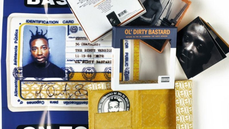 Illustration for article titled Deluxe reissue of Ol' Dirty Bastard's Return To The 36 Chambers: The Dirty Version due Nov. 22